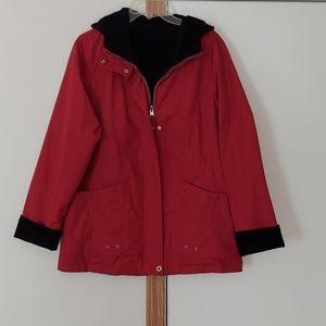Reversible ladies coat